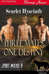 Spirit Wolves 4. Three Mates, One Destiny